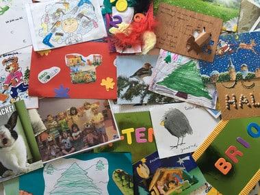 Mein Adventsheft! Gewinnspiel Briefe und Postkarten Einsendungen