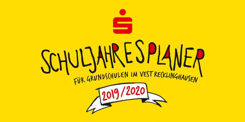 Schuljahresplaner 2019 für Grundschulen im Vest Recklinghausen