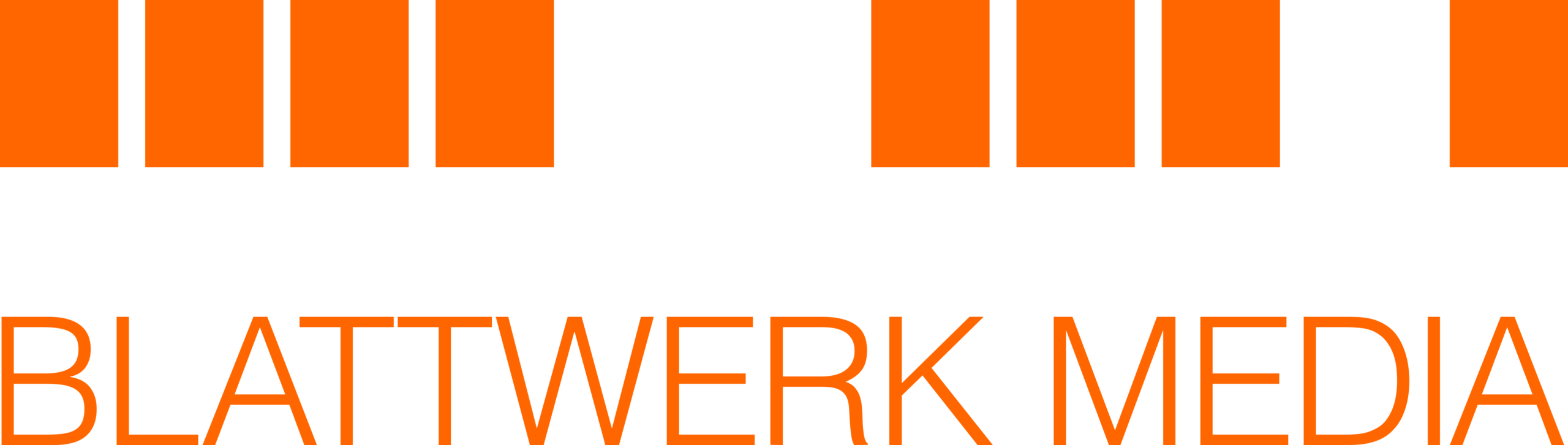 Blattwerk Logo orange