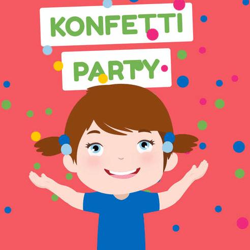Konfetti Party Zeichnung