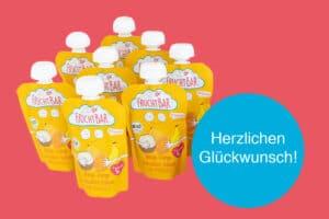 Fruchtbar Quetschbeutel Produktfoto